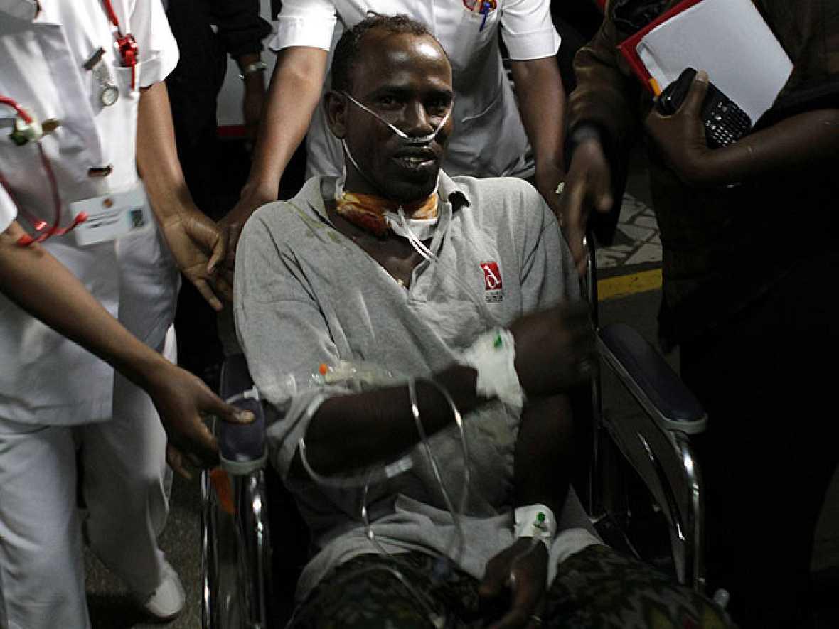 El conductor keniano de las cooperantes españolas permanece estable