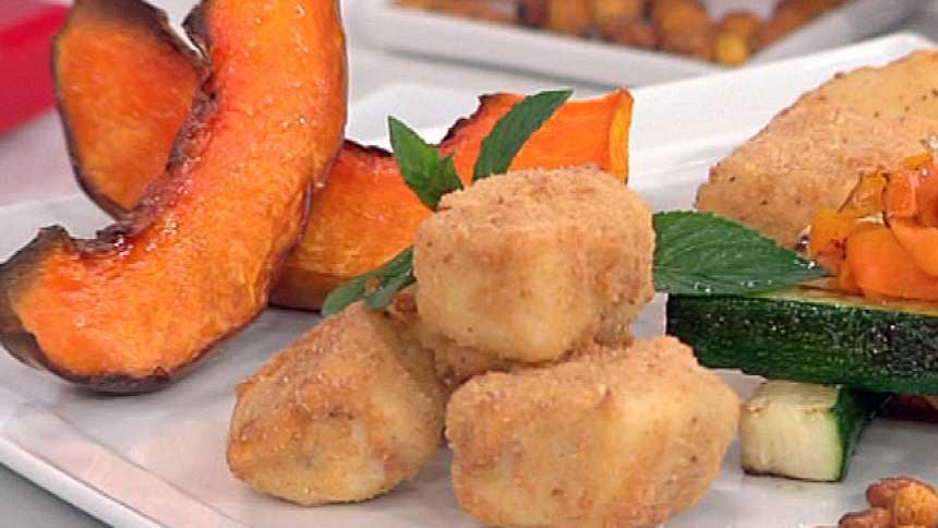 Saber Cocinar - Croquetas de jamón con verduras a la plancha - 14/10/11