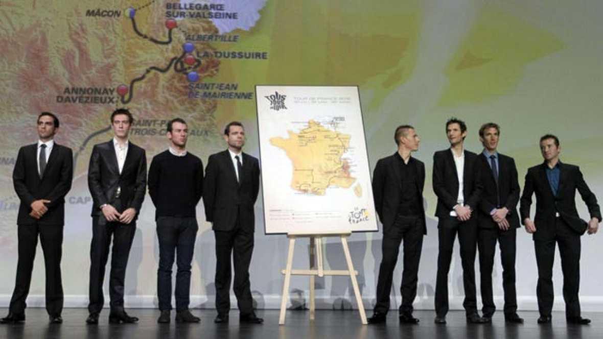 El Tour de Francia 2012 se ha presentado, pero no ha habido novedades respecto al recorrido que se hizo público días antes por un error informático