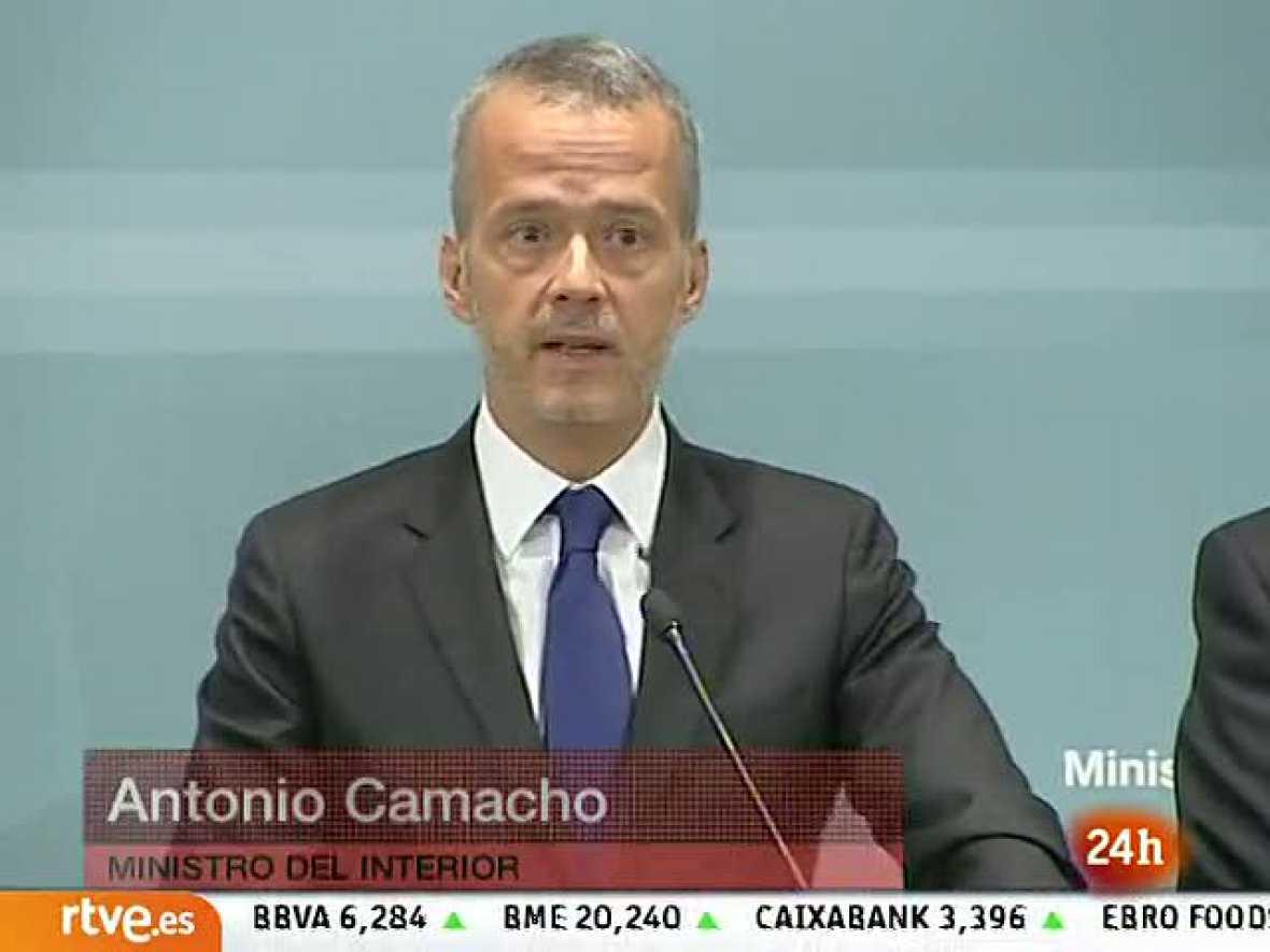 """Camacho asegura que la policía ha acabado con ETA y que la deuda es """"impagable"""""""