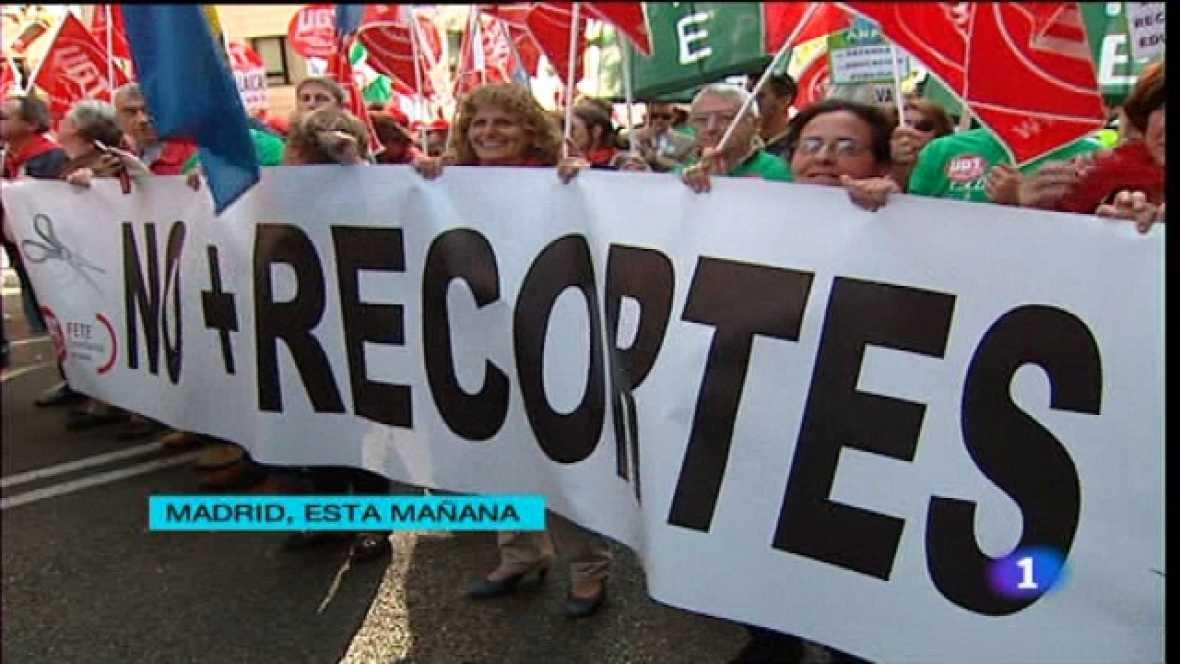 Telediario - 15 horas - 22/10/11 - Ver ahora