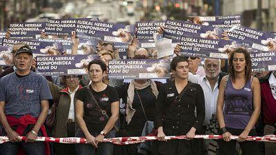 Manifestación de la Izquierda Abertzale en Bilbao