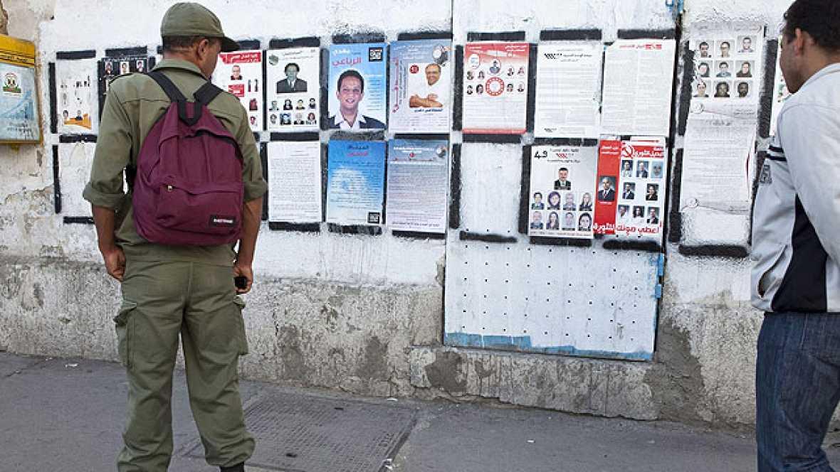 Serán este domingo y los tunecinos tienen que elegir a los 217 miembros de la Asamblea.