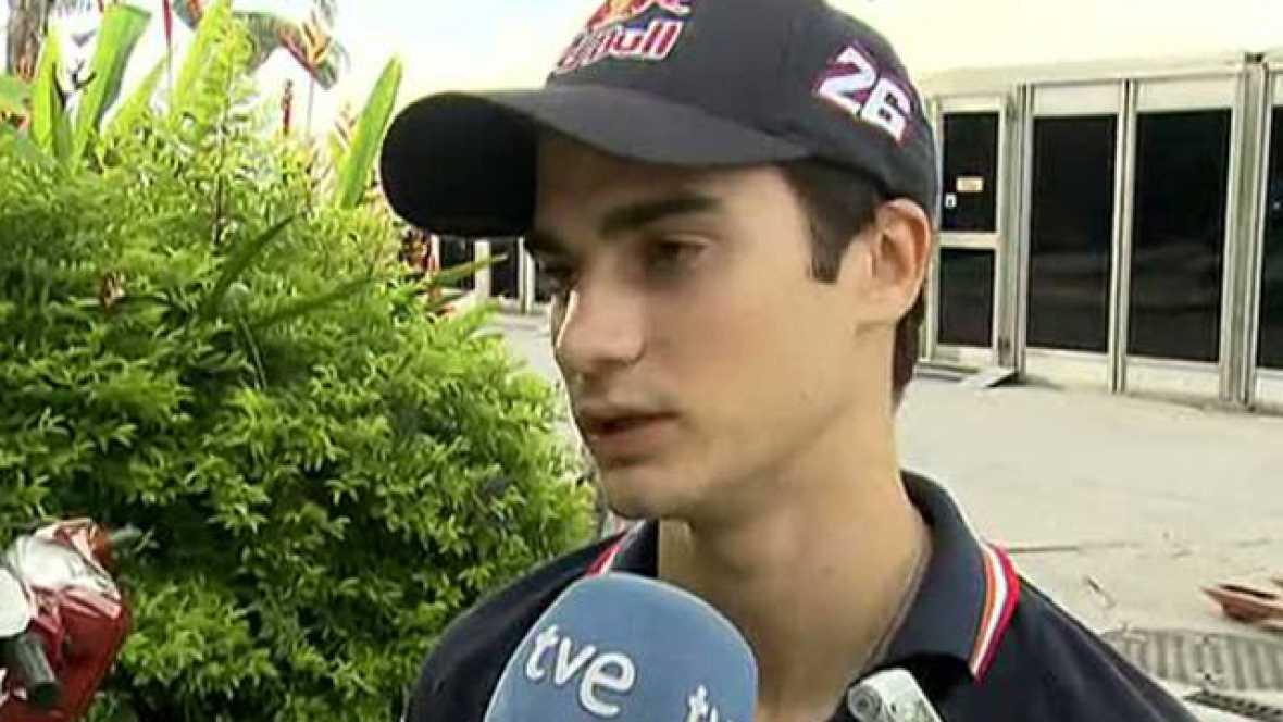 """Los pilotos del campeonato del mundo de MotoGP se han unido también al dolor de la escudería de Marco Simoncelli . Toni Elías se ha referido a él """"como un personaje único por su estilo"""". Por su parte, Dani Pedrosa cree que """"que pasen estas cosas quit"""