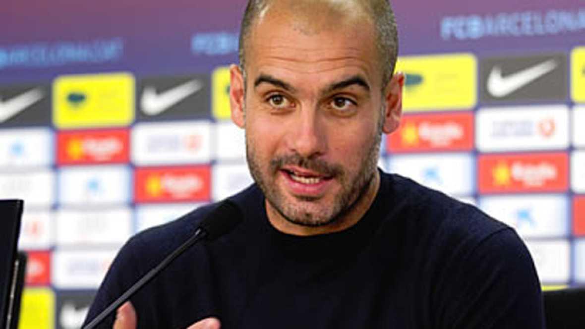 """Guardiola: """"Messi es indiscutible"""""""