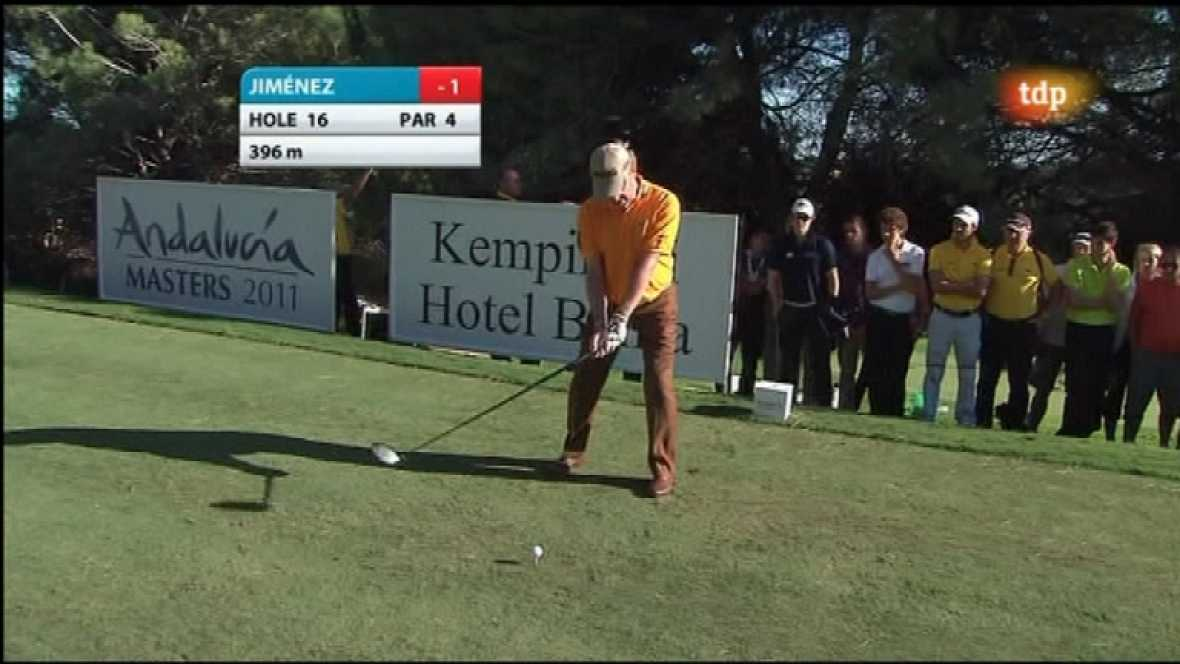 Golf - Masters Andalucía, 2ª jornada (2) - 28/10/11 - Ver ahora