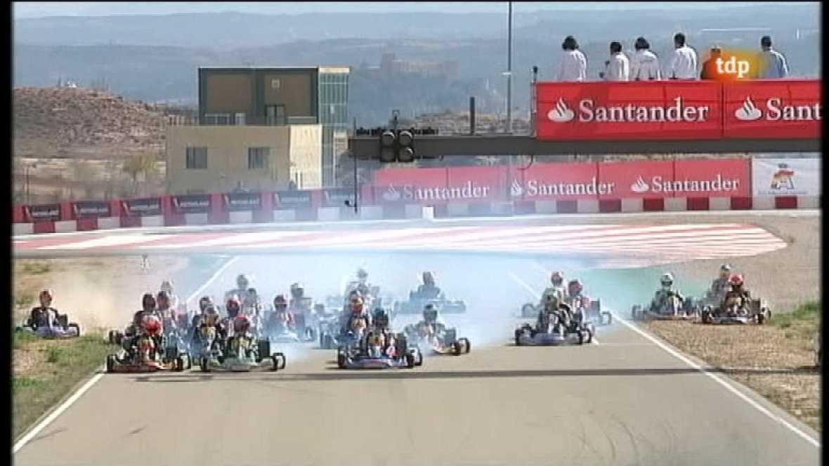Campeonato de España de Karting. 5ª prueba: Motorland (Aragón) - Ver ahora
