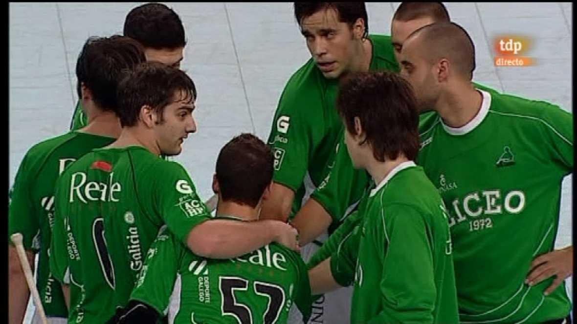 Hockey sobre patines - Liga española. 3ª jornada - 31/10/11 - Ver ahora