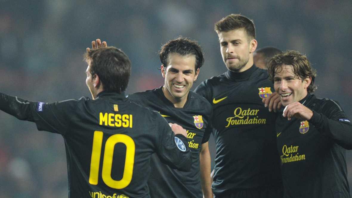 Un Barça de récord, a octavos