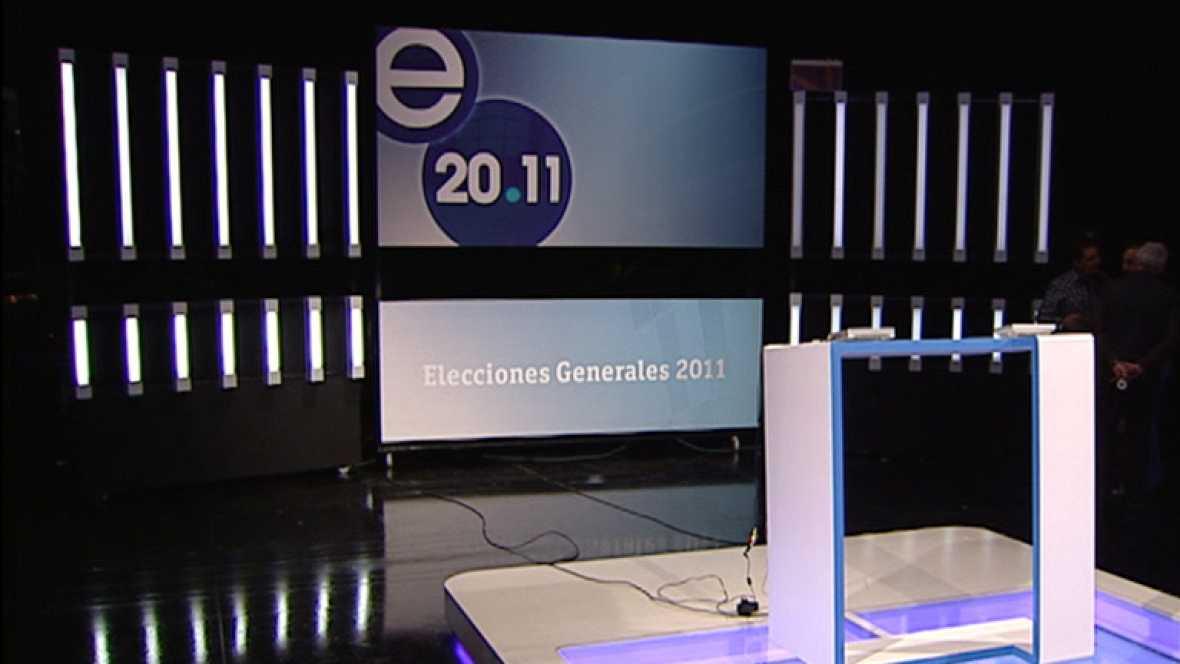 Ya está todo preparado para el debate a cinco