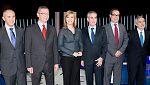 El debate a cinco en TVE, en lengua de signos