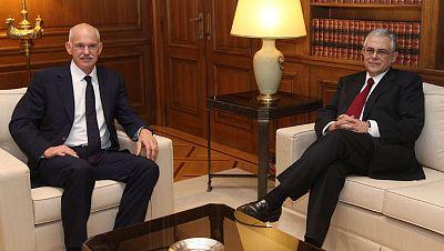 El primer ministro de Grecia garantiza que la zona euro aportará todo lo necesario