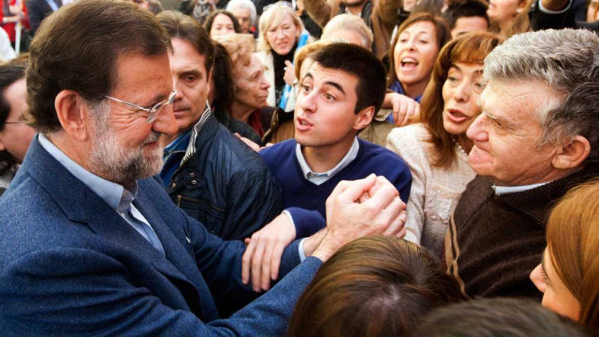 El Partido Popular ha llevado hoy sus mensajes electorales a Zaragoza