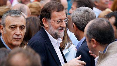 Rajoy afirma que los españoles ya no tienen miedo al cambio