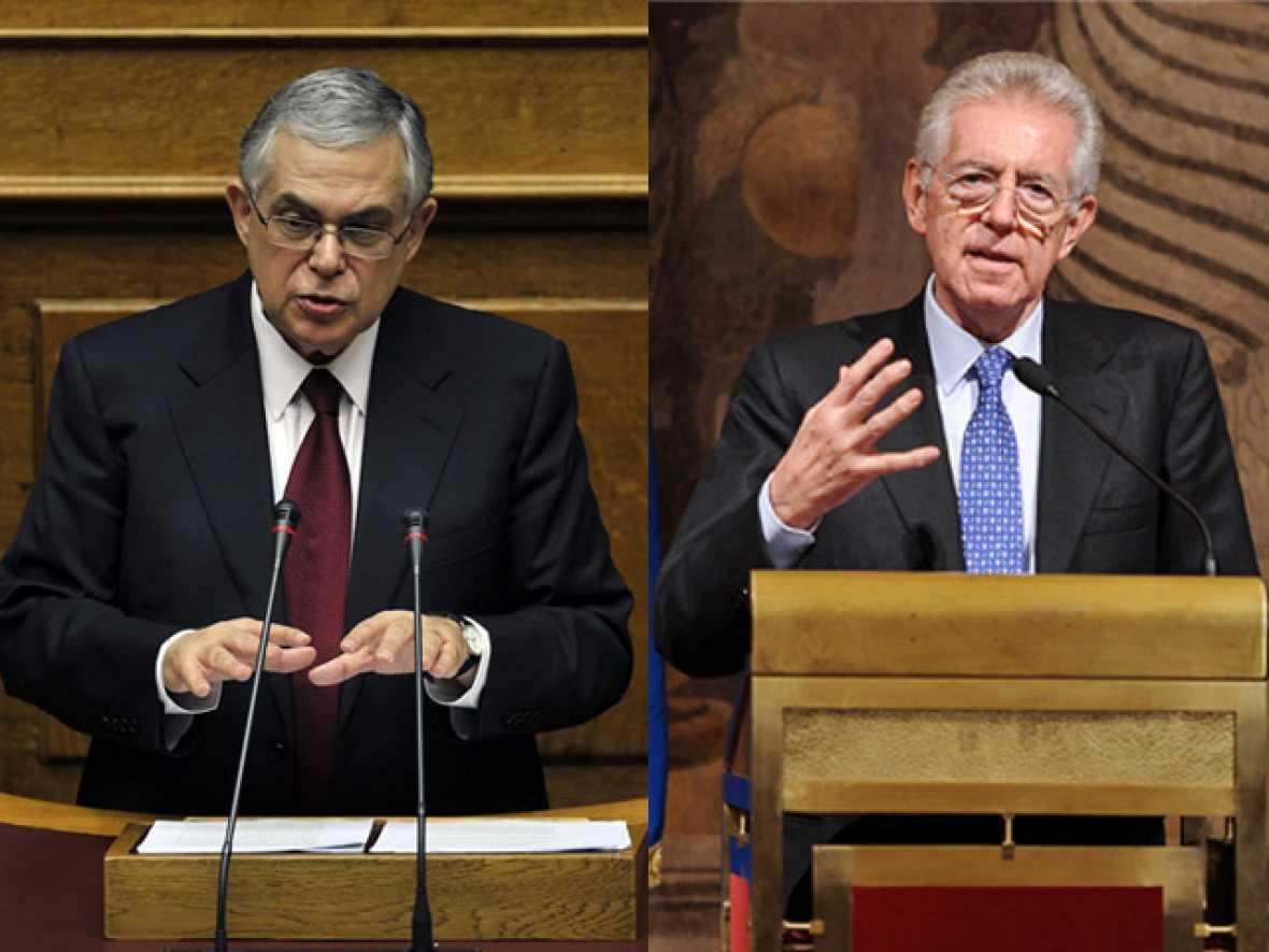 Los cambios de gobierno en Italia y Grecia no calman a los mercados