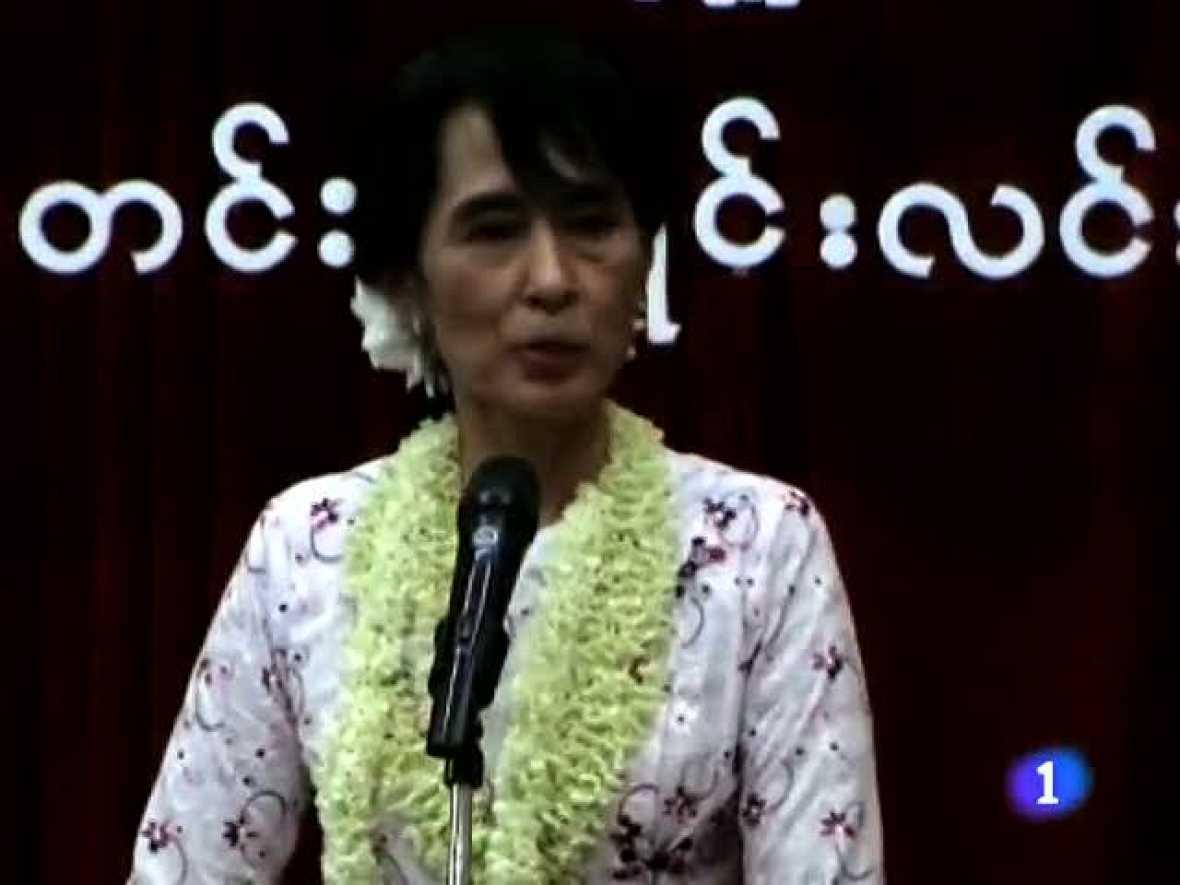 Aung Sang Su Kyi, Nobel de la Paz, participará en las próximas elecciones Birmanas