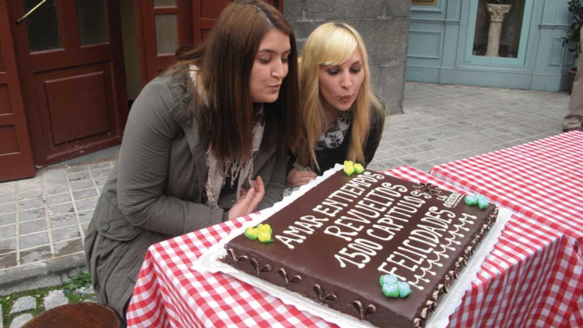 Las fans, parte de la familia 'Amar' en la fiesta 1.500 capítulos