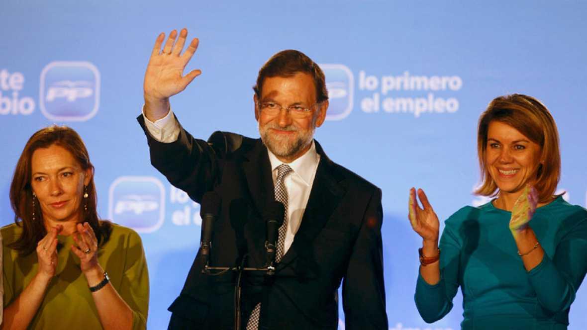 Victoria histórica del PP en las elecciones generales