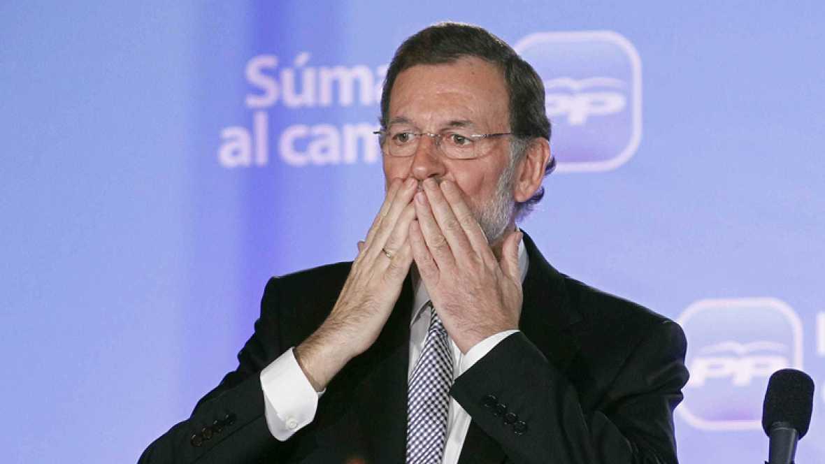 El PP arrasa con su mayor triunfo con una mayoría absoluta de 186 diputados