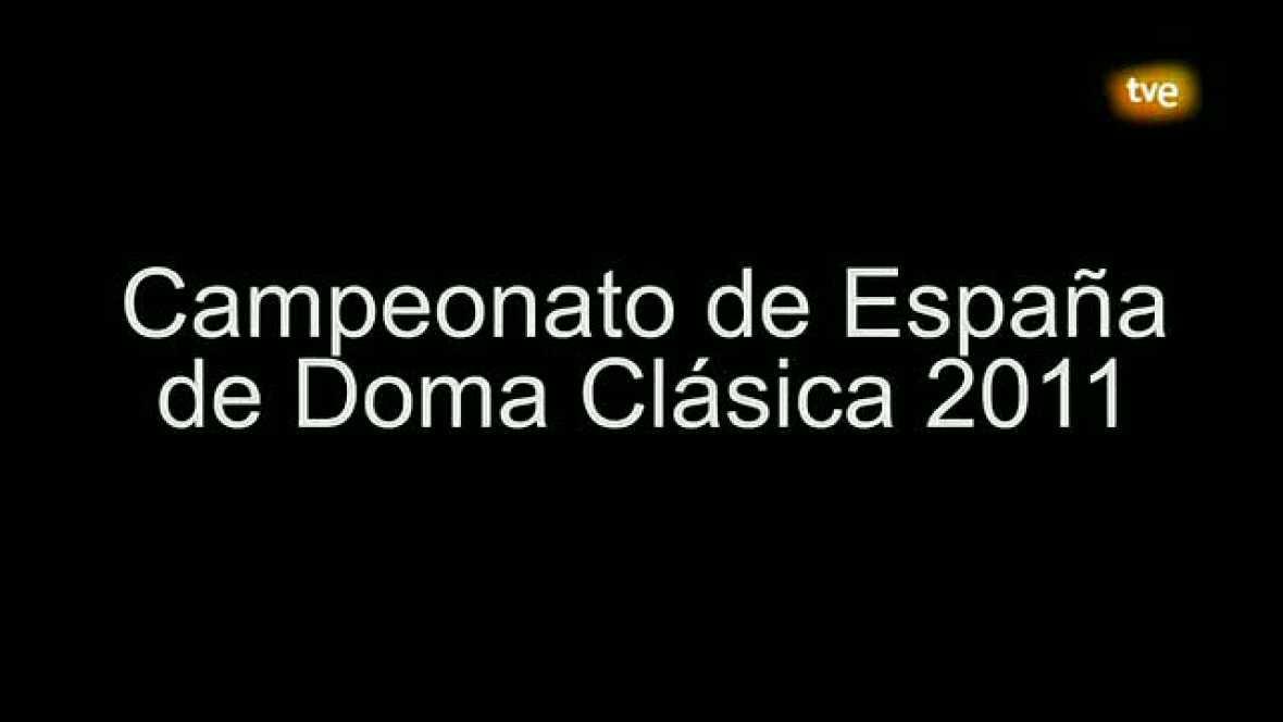 Hípica. Cto. España de Doma Clásica