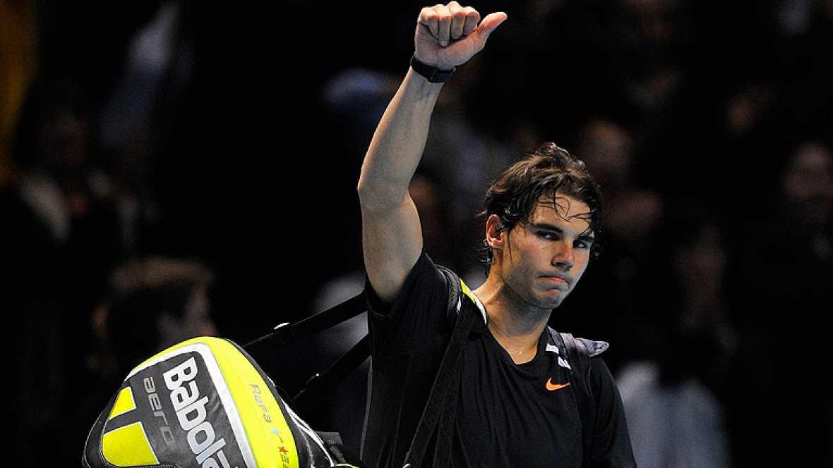 """El español Rafa Nadal ha aceptado la derrota ante Federer, que estuvo """"brillante"""" según el mallorquín, que ha reconocido que no ha estado """"preparado"""" para jugar contra Federer."""