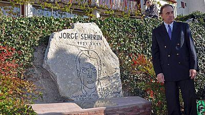 Homenaje en Biriatou al político y escritor Jorge Semprún