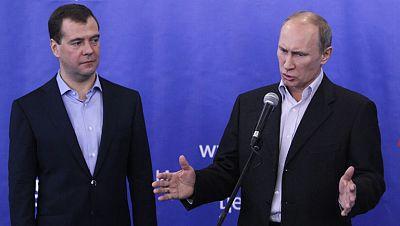 El partido de Vladímir Putin podría perder la mayoría absoluta