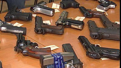 Los delincuentes utilizan cada vez más las armas para cometer sus delitos