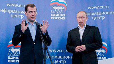 El partido de Vladimir Putin ha logrado mantener la mayoría absoluta en la Duma