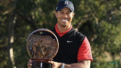 El golfista estadounidense Tiger Woods, ex número uno mundial, ha cerrado una sequía de títulos que se alargaba ya dos años con su triunfo en el Chevron World Challenge, torneo de la PGA