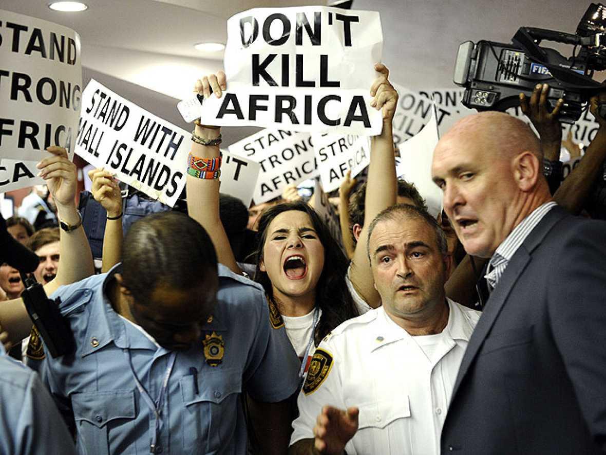 Cumbre de Durban contra el Cambio Climático