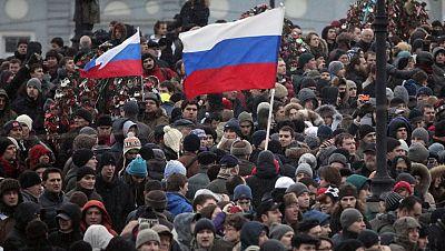 El partido de Putin convoca una manifestación de apoyo en Moscú para contrarrestar las protestas