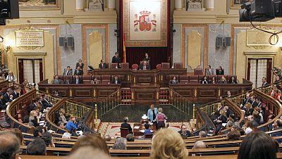 En las Cortes, ha empezado la décima legislatura