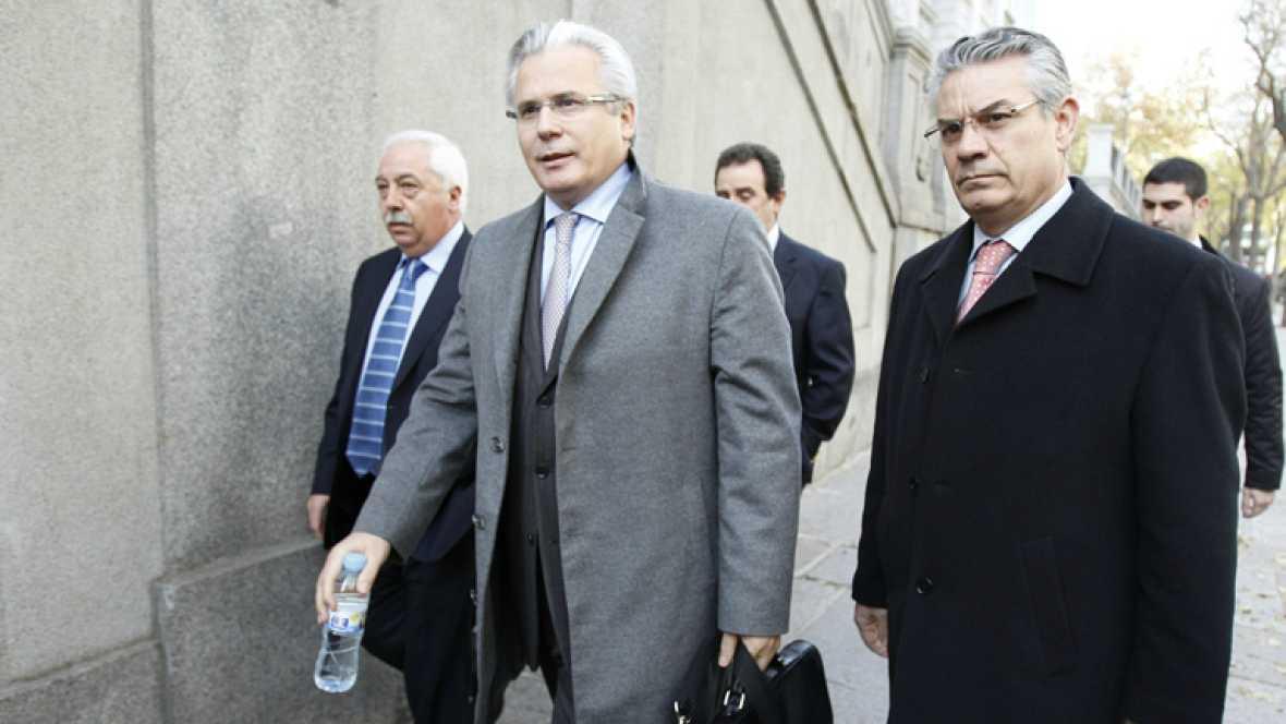 Garzón vuelve a declarar como imputado