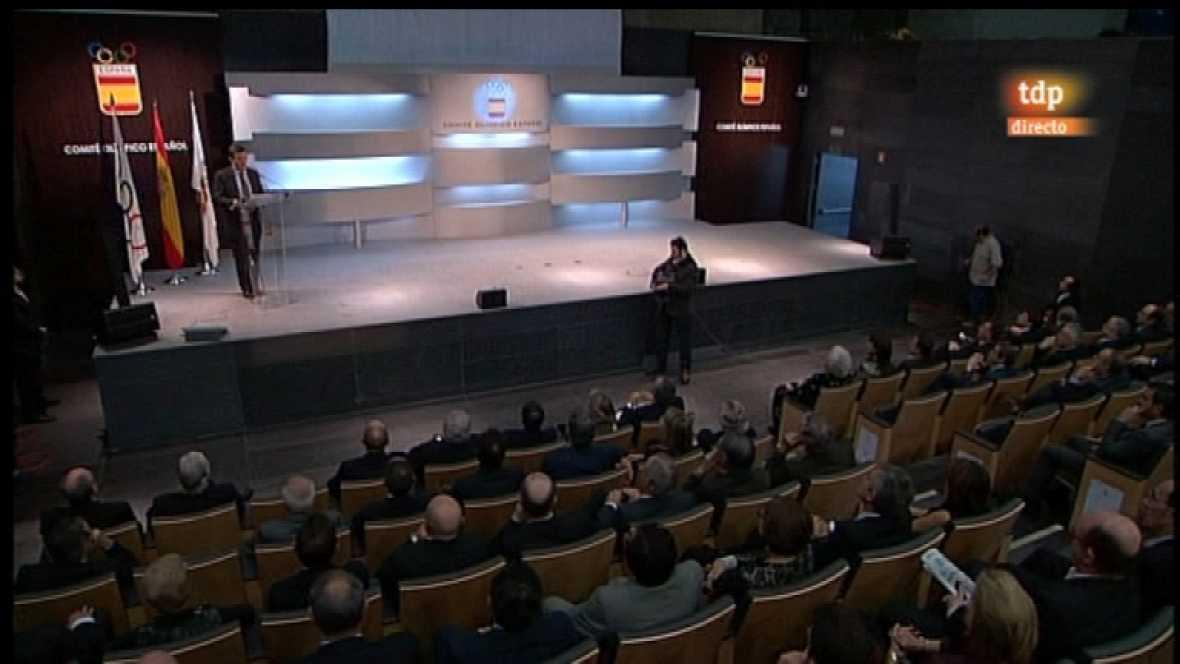Gala del Comité Olímpico español - 14/12/11 - Ver ahora