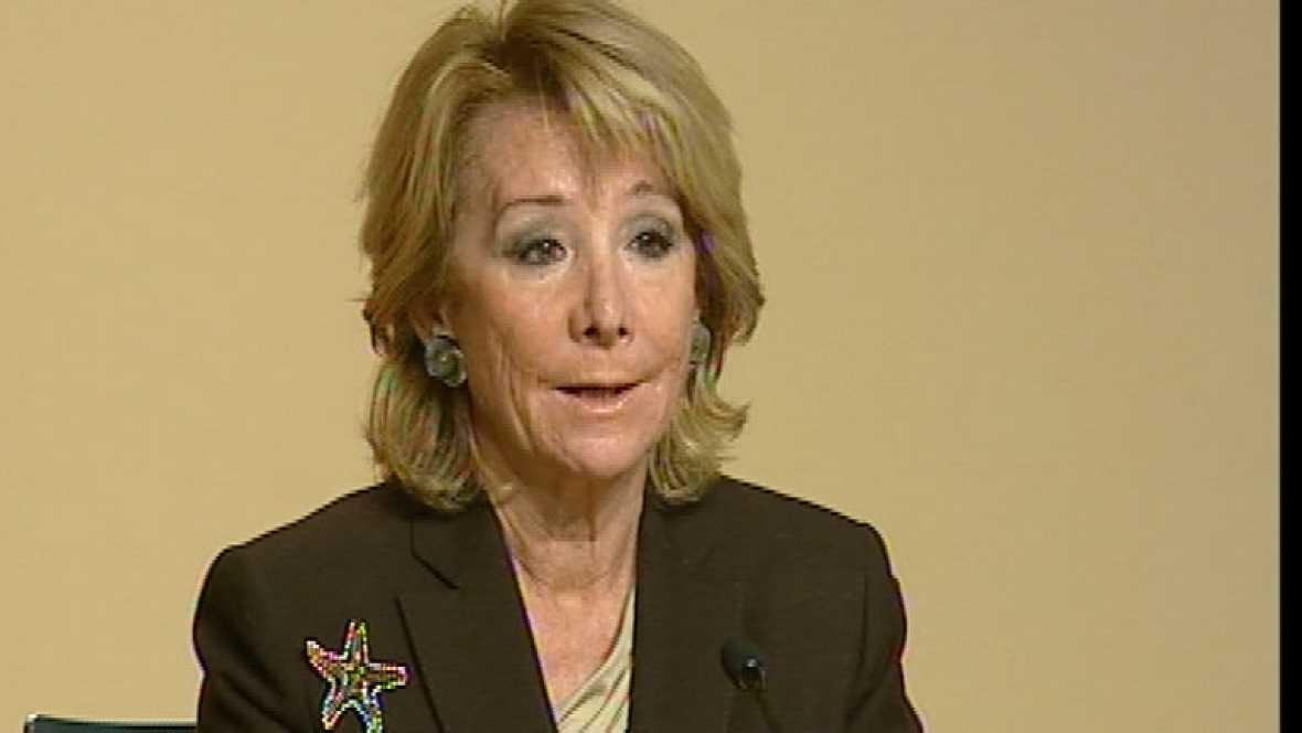 Esperanza Aguirre liberaliza por completo los horarios de comercio en la Comunidad de Madrid