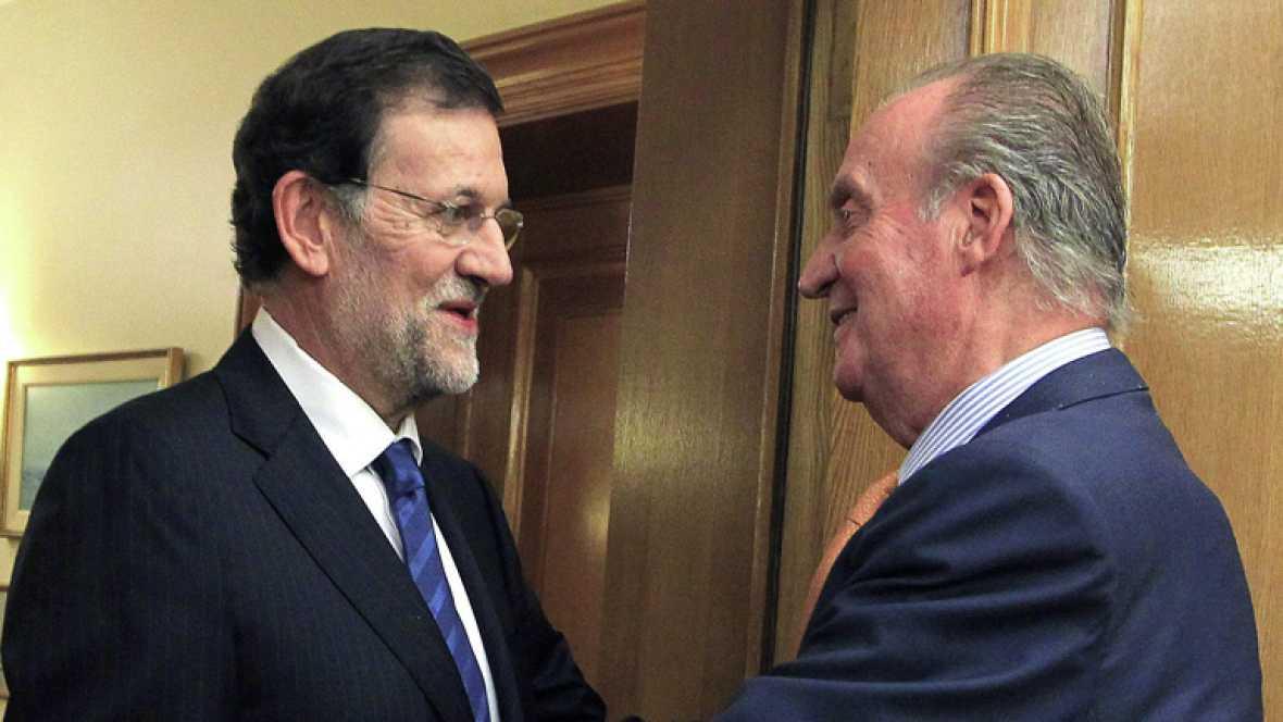 Rajoy habla sobre la ilegalización de Amaiur que ha pedido UPyD