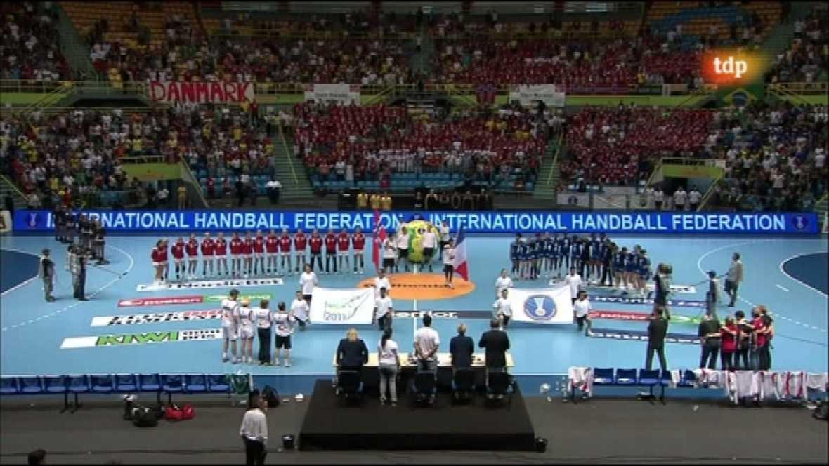 Balonmano - Mundial femenino. Final: Noruega-Francia - 18/12/11 - Ver ahora