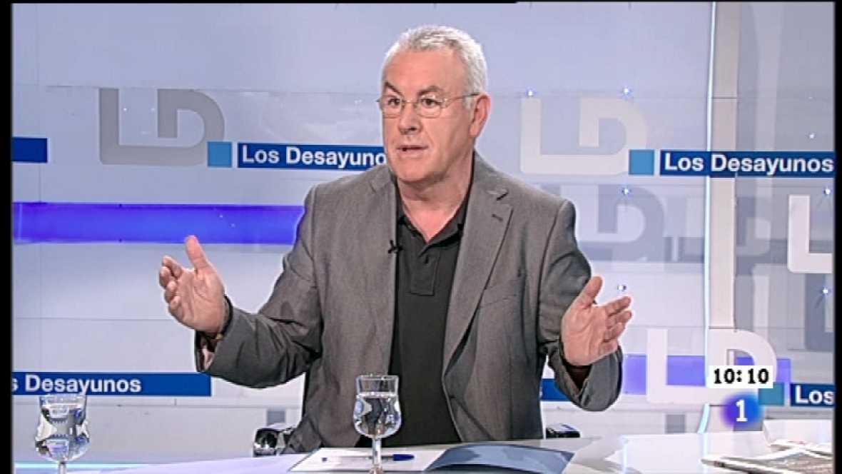 Los desayunos de TVE - Cayo Lara, coordinador federal de Izquierda Unida - Ver ahora