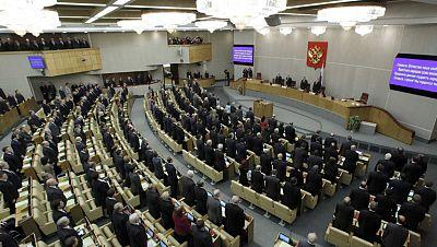 Primera sesión de la nueva Duma en Rusia, bajo los focos de las protestas