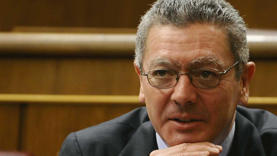 Alberto Ruiz Gallardón, ministro de Justicia