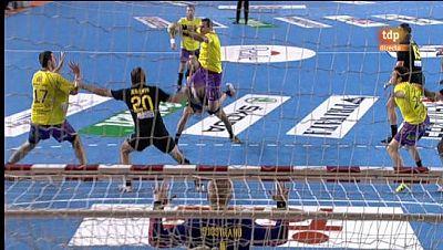 Balonmano - Copa ASOBAL: Primera semifinal. Barcelona - Cautro Rayas Valladolid - 21/12/11 - Ver ahora