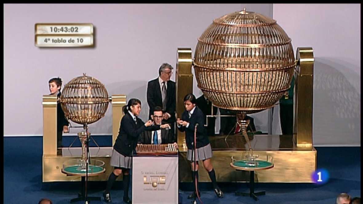 Especial informativo - Sorteo de la Lotería de Navidad 2011 - Tercera hora - Ver ahora