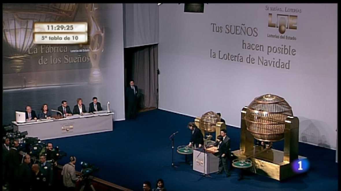 Especial informativo - Sorteo de la Lotería de Navidad 2011 - Cuarta hora - Ver ahora
