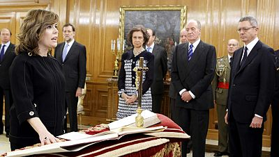 Soraya Sáenz de Santamaría es la número dos del Gobierno con amplios poderes