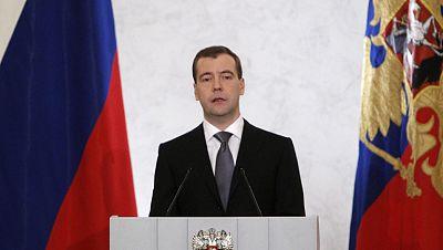 El presidente de Rusia ha abierto la puerta a una reforma política en el país