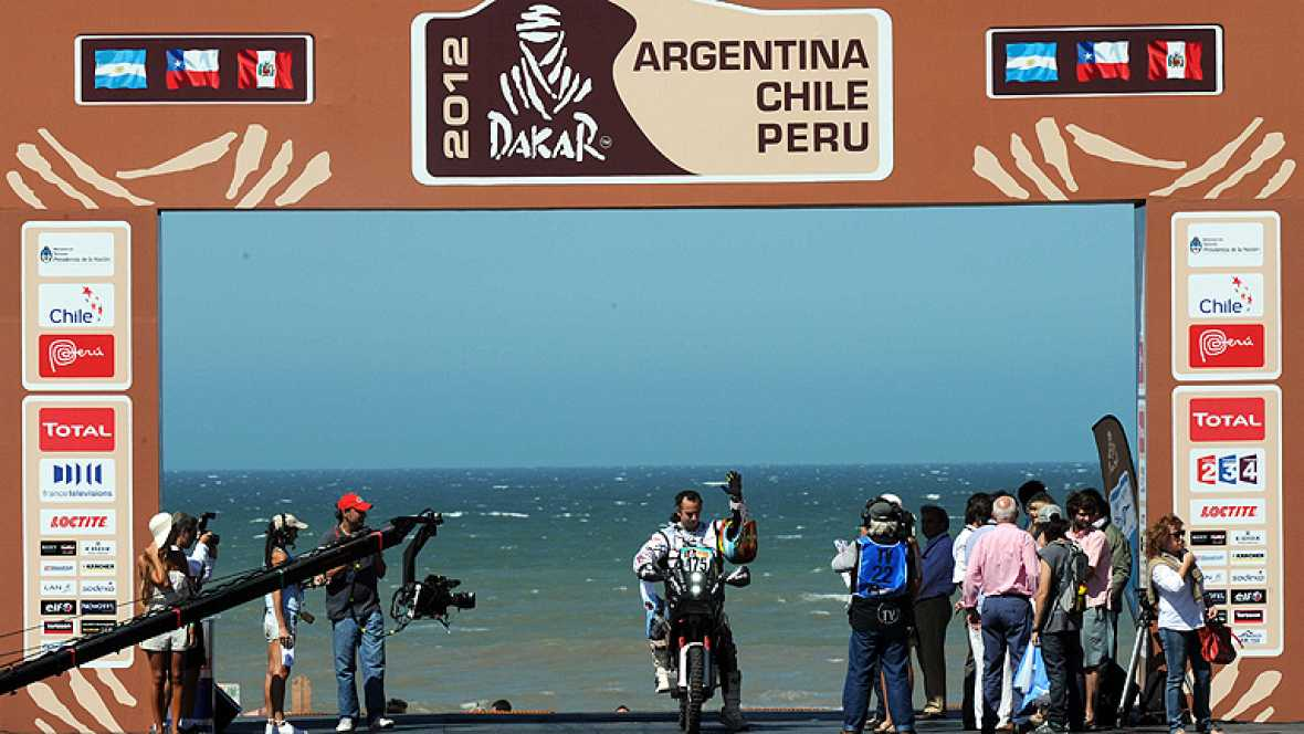 Rally Dakar 2012 - Etapa 1 (Mar del Plata - Santa Rosa de la Pampa) - 01/01/12 - Ver ahora