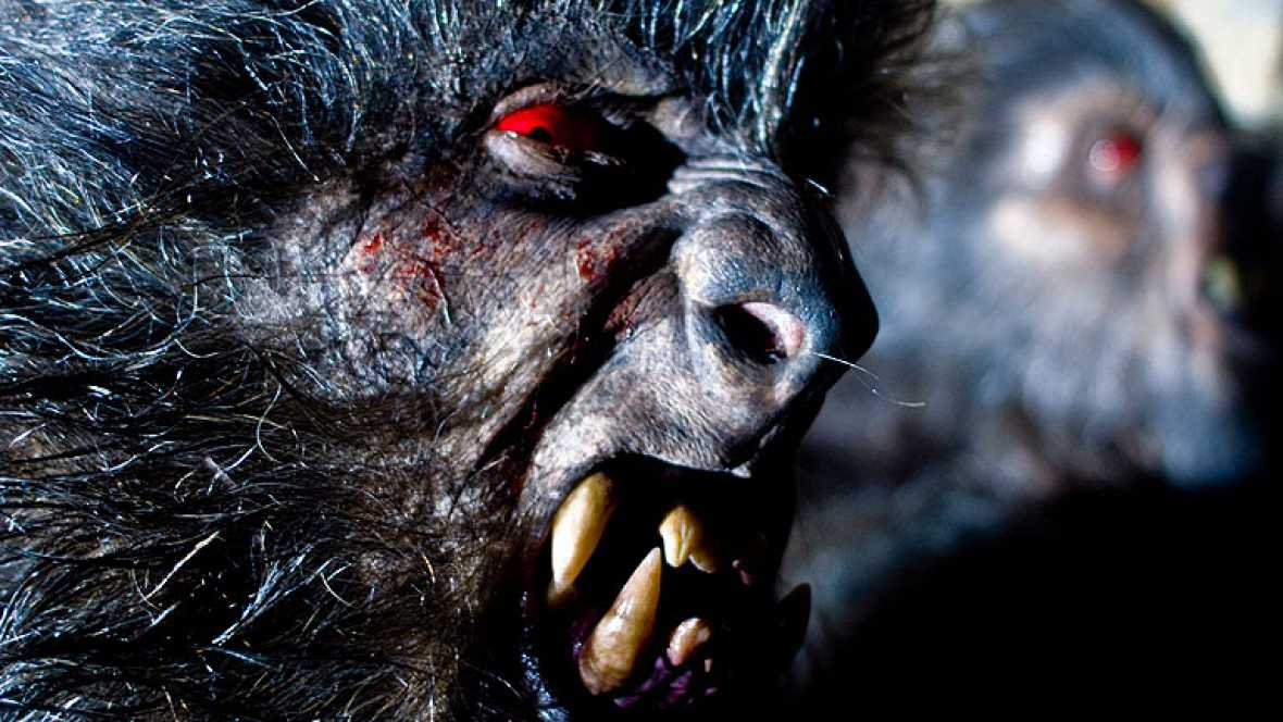 'Lobos de Arga': El maquillaje de los hombres lobo