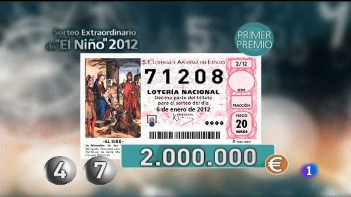 Lotería del Niño 2012 - Ver ahora