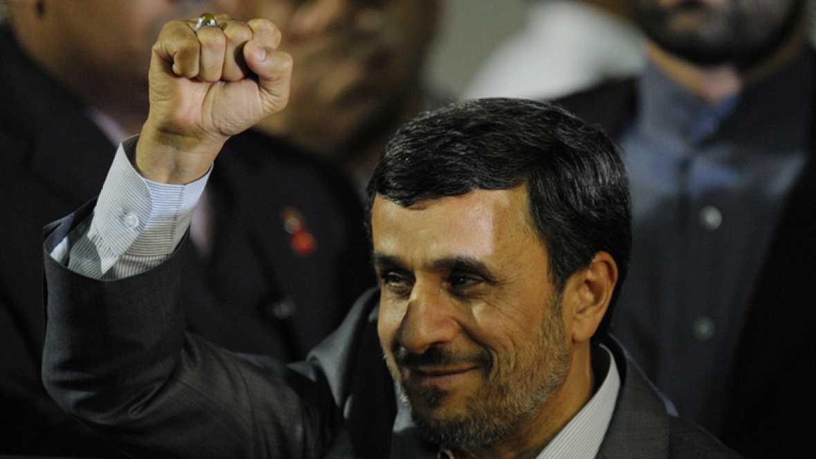 Mahmud Ahmadinejad inicia gira por Venezuela en busca de apoyos para su programa nuclear